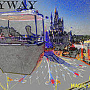 Skway Magic Kingdom Art Print