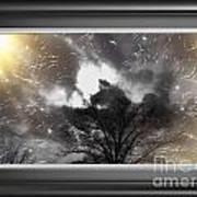 Sky Blast 2 Art Print