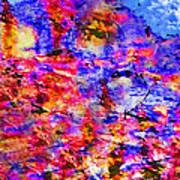 Sky Break Through Art Print