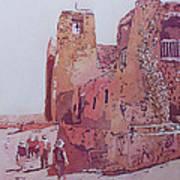 Sky City Mission Art Print