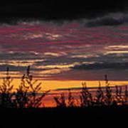 Sky Colours Art Print