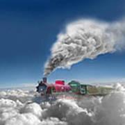 Sky Express Art Print