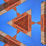 Sky Fortress Progression 9 Art Print