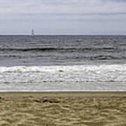 Sky Sea Surf And Sands Art Print