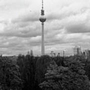 Sky Over Berlin Art Print