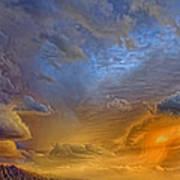 Sky Painting Photo 3621 Art Print
