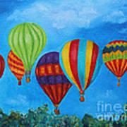 Sky Skittles Art Print