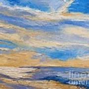 Sky At Sunset Art Print