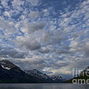 Sky Water Mountains Art Print