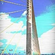 Skybridge Art Print