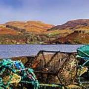 Skye Fishing Pots Art Print