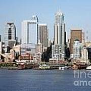 Skyline Of Seattle Art Print