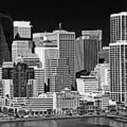 Skyline San Francisco Art Print