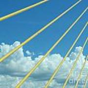 Skyway To The Clouds Art Print