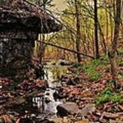 Slate Bottom Creek Art Print
