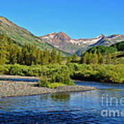 Slate River View Art Print