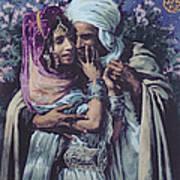 Slave To Love Print by Alphonse Etienne Dinet