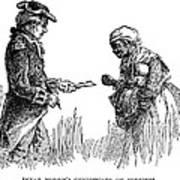 Slavery: Manumission, 1777 Art Print by Granger