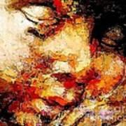 Sleep 0377 Marucii Art Print