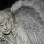 Sleeping Angel Art Print