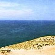 Sleeping Bear Dunes Panorama Art Print