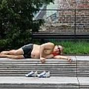 Sleeping Beauty On The High Line Art Print
