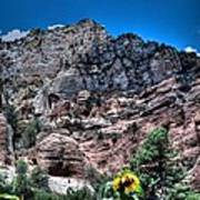 Slide Rock Canyon Art Print