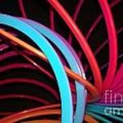 Slinky Craze 3 Art Print