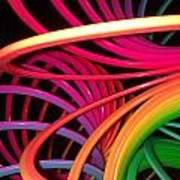 Slinky Craze Art Print