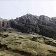 Slope Of Hills In The Scottish Highlands Art Print