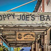 Sloppy Joe's Bar Canopy Key West - Hdr Style Art Print