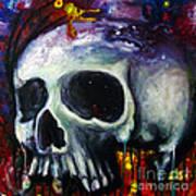 Sloppy Skull Art Print