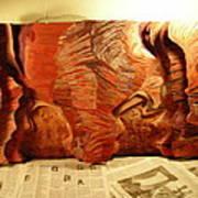 Slot Canyon 3d Wall Hanging Art Print