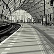 Sloterdijk Station In Amsterdam Art Print