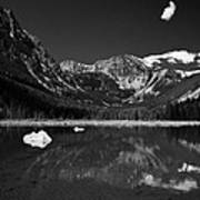 Slough Lake 3 Bw Art Print by Roger Snyder