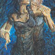Slow Dancing 1 Art Print