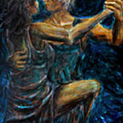 Slow Dancing II Art Print