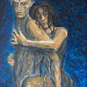 Slow Dancing Vi Art Print