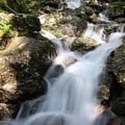 Slow Shutter Waterfall Scotland Art Print