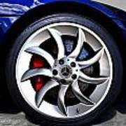 Slr Wheel Art Print