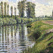 Small Branch Of The Seine At Argenteuil Art Print
