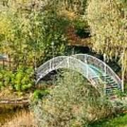 Small Bridge In The Park Art Print