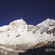 Small Climber Big Peaks Art Print