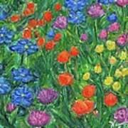 Small Flowers Art Print