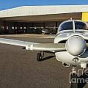 Small Planes In Private Airport Art Print