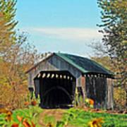 Small Private Country Bridge Art Print