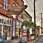 Small Town U. S. A. Art Print
