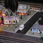 Small World - A Smalltown Holiday Art Print