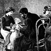 Smallpox Vaccination, 1883 Art Print