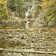 Smalls Falls In Autumn Western Maine Art Print